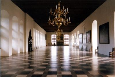 Helsingør, Hamlets Schloß, die Große Halle